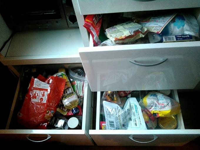 食品庫の断捨離・片付けの画像