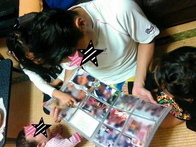 子どもの写真整理術実践