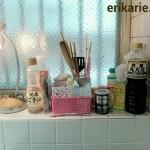 【キッチンのお片付け】出しっぱなし調味料と小物の収納場所を考える