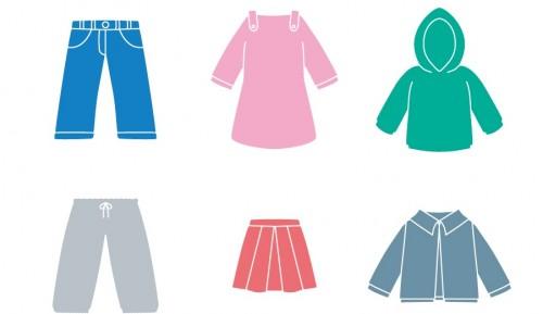安い子供服は節約にならない。5歳女の子の服は量より質!