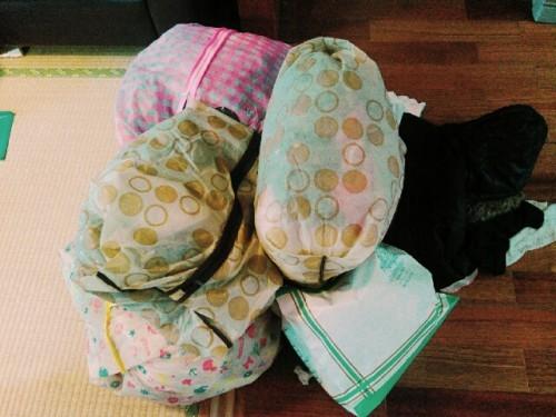 サイズ別で子ども服の収納を見直しました。