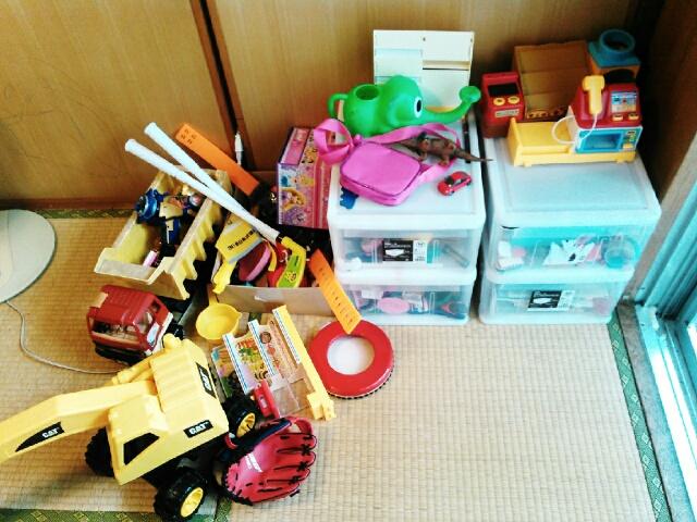 おもちゃの断捨離~親が捨てる
