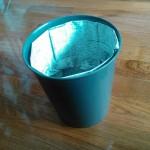 【簡単20秒】ゴミ箱にビニール袋は使わない。新聞紙で作る内袋が便利!