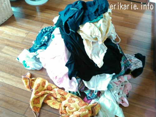 溜まる洗濯物にやる気が出ない時、タオルだけ畳むのをおすすめする理由