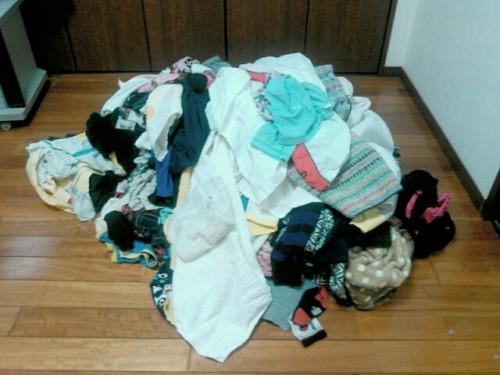 洗濯物を畳まない収納をしない理由