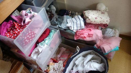 【育児中の断捨離に必要な家電】洗濯乾燥機があると、安心して子供服を減らせます
