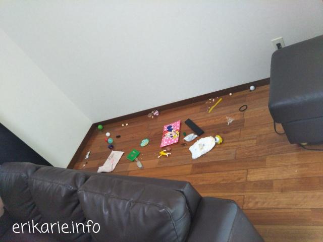 ソファ下の隙間の掃除