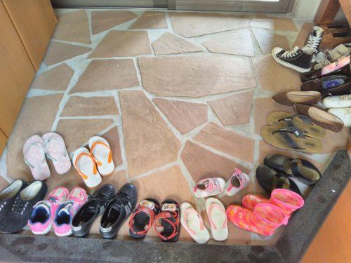 玄関・靴箱の片付け