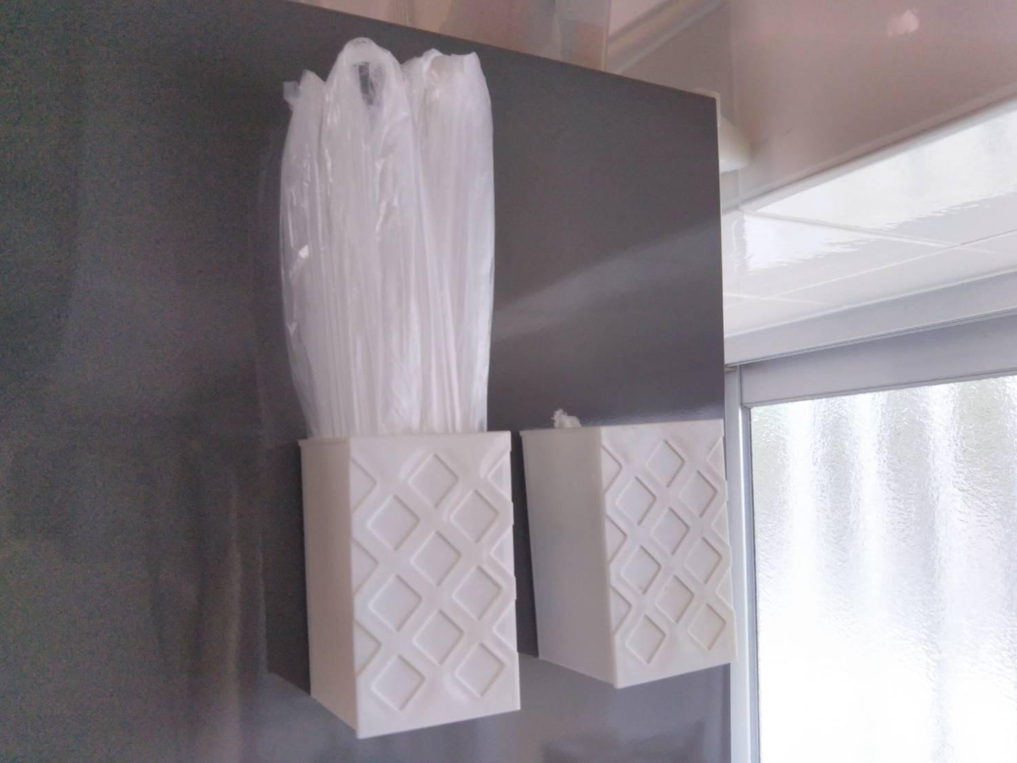 小さいポリ袋の収納方法