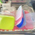 【タッパーの洗い方】お弁当箱の油汚れも1回で落とせる方法