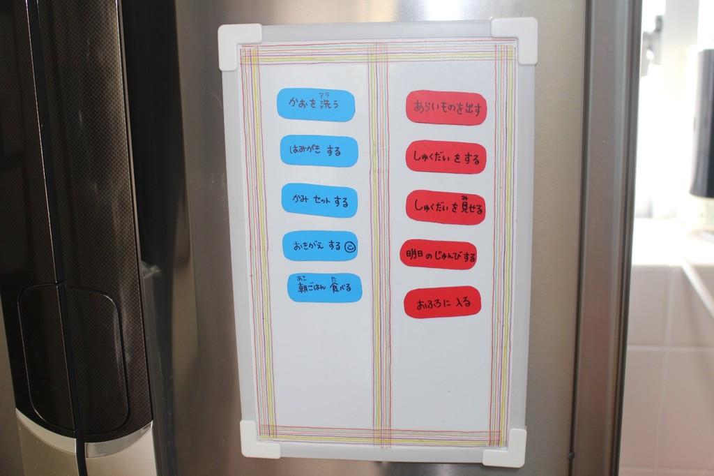 子どもの「やることボード」の効果がない時、見直して欲しい項目