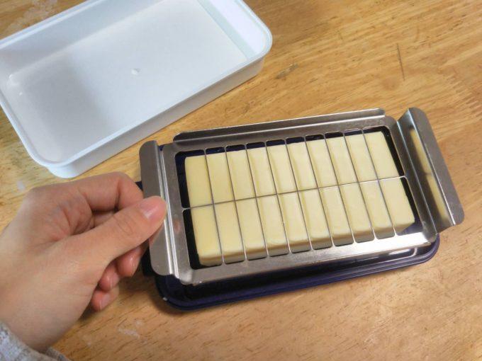 バターカッター付き保存容器使って見てよかったとと買う前に注意すべしこと