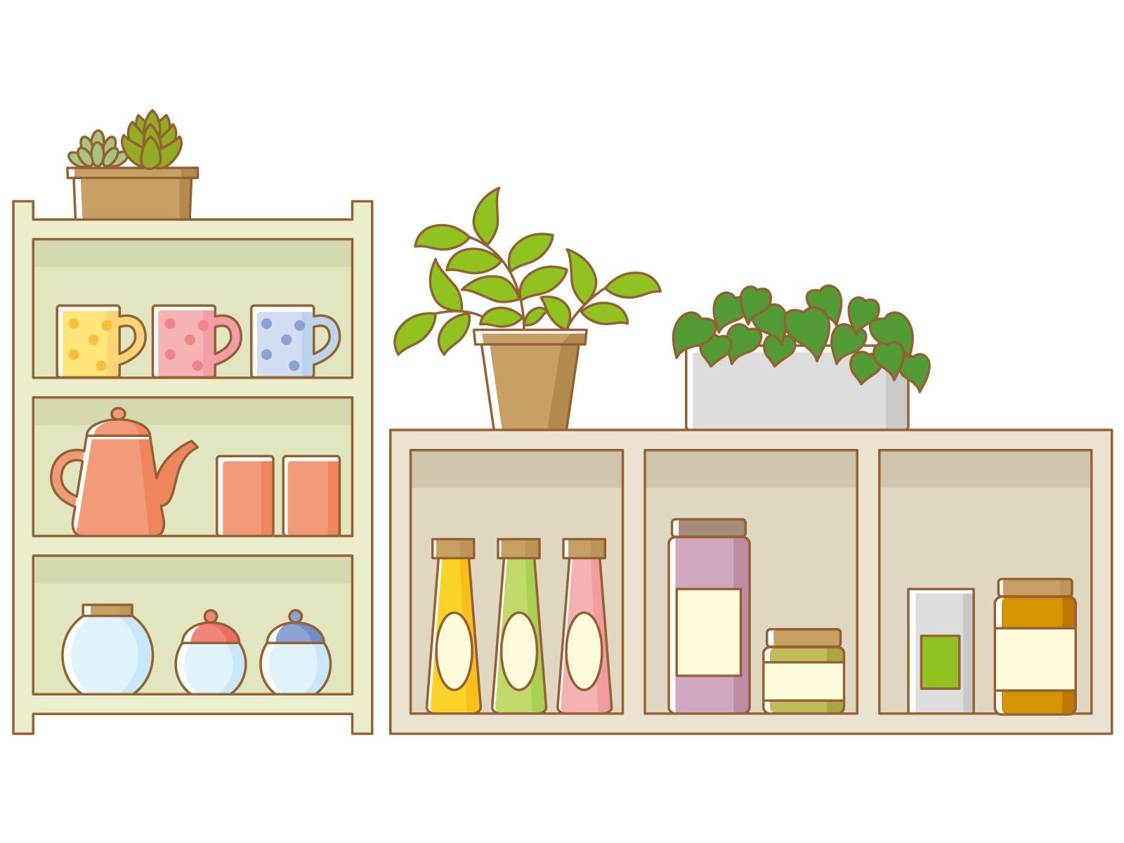 収納家具を買う前に要チェック!損しないための収納の考え方