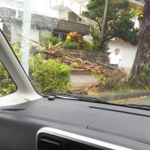 2018年沖縄の台風24号