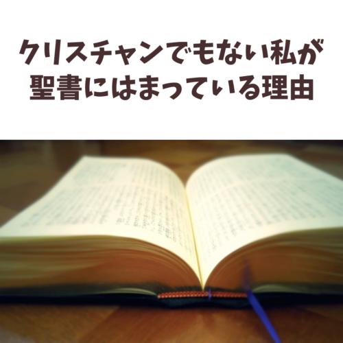 聖書を読むメリット。クリスチャンでもなんでもない私が聖書を読んだら、すごく役立つと思った理由