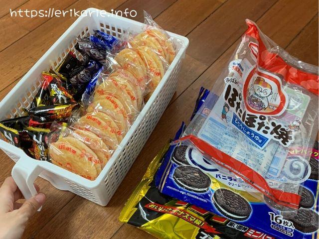 お菓子のストック収納のコツ