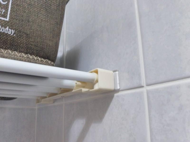 突っ張り棒の落下防止対策に耐震マットを使うと強度は?